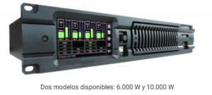 Nuevos amplificadores serie XT con procesamiento DSP de Lynx Pro Audio