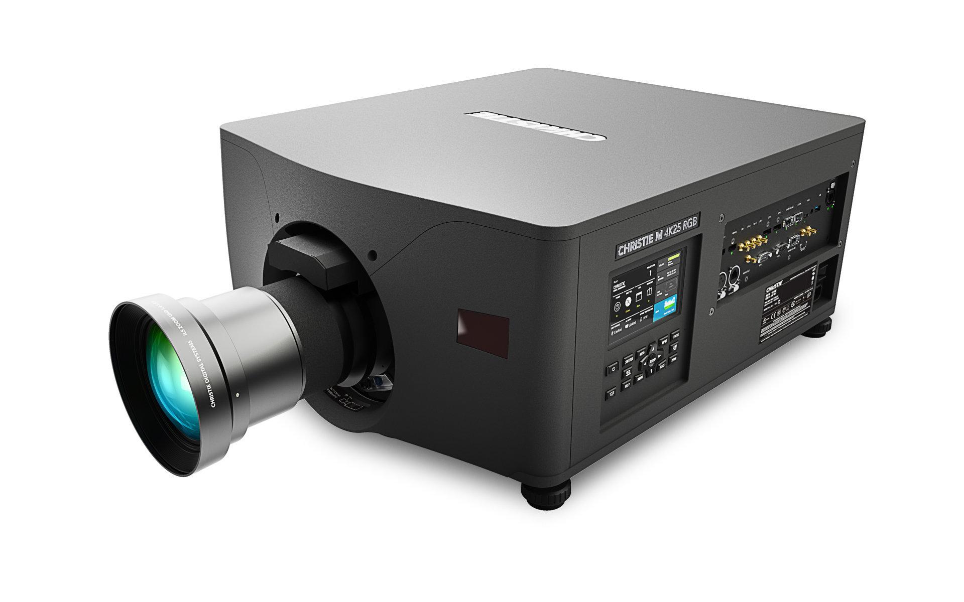 proyector RGB de láser puro M 4K25 de Christie