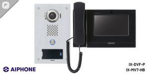 instalación del sistema de seguridad para el control de accesos de audio/vídeo vía IP serie IX de AIPHONE
